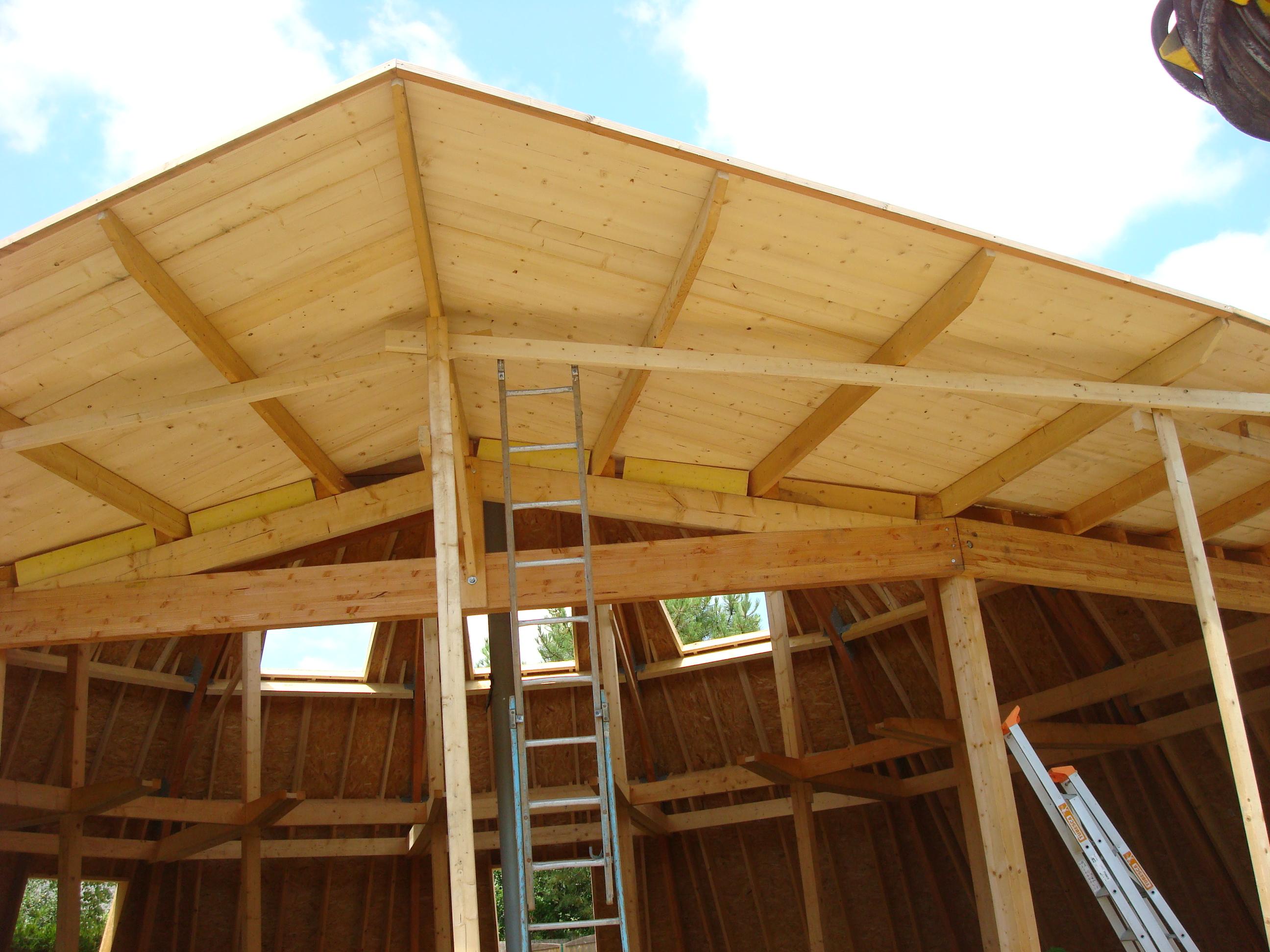 Construction bois realisation extension 44 for Construction bois 44